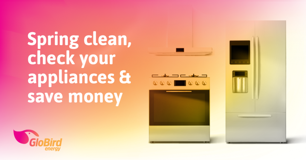 Spring clean, check your appliances and save money