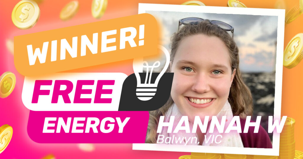 Congratulations to our April free electricity for a year winner!